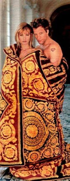 Versace - valeria mazza jon bon jovi