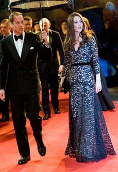 Prince William, Duke of Cambridge and Catherine, Duchess of Cambridge attend the UK premiere of War Horse at the Odeon Leicester Square on January 8, 2012 in London, England. (Samir Hussein/WireImage/Getty Images)
