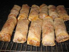 Kylling Vårruller- stekt i ovn Tid: ca 1 time innkl steking Du trenger:til ca 30 vårrulle...