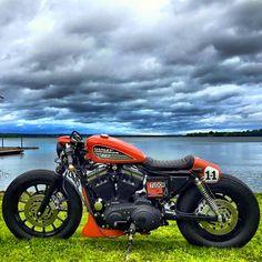 Harley Davidson News – Harley Davidson Bike Pics Sportster Cafe Racer, Buell Cafe Racer, Hd Sportster, Cafe Racer Motorcycle, Moto Bike, Harley Davidson Sportster, Cafe Bike, Cafe Racer Bikes, Cafe Racers