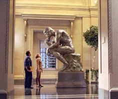 Night at the Museum 2- The Thinker {I'm thinking...}