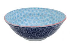 Bol XL japonais bleu et turquoise, Tokyo Design Studio, www.oranjade.com