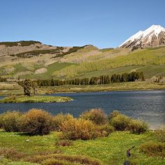 Peanut Lake at Crested Butte Colorado