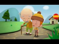 EL ABUELO Y EL NIETO - Cuentos para niños en español - YouTube