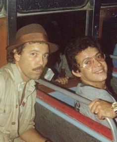 Panamanian salsa singer, actor and writer Ruben Blades and Puerto Rican salsa legend Hector La Voe