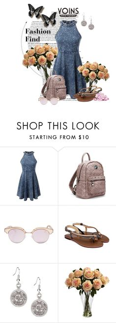 """""""Yoins"""" by rain88 ❤ liked on Polyvore featuring Le Specs, Nearly Natural and yoins"""