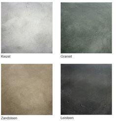 Betonlook verf betonlookverf concrete industriele muur industrieel interieur wand industrial interior