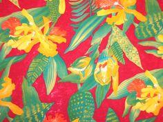 Maya's FIRST Birthday - Hawaiian Luau! - hawaiian print