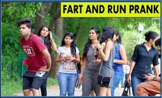 Fart and Run Prank - Pranks in India | TST Videos