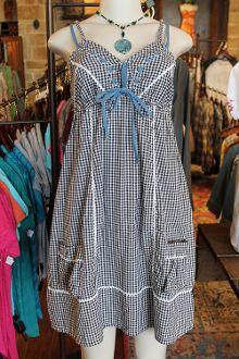 Checkered Sun Dress  $39