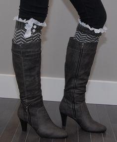 Chevron Stripe Leg Warmers... SO CUTE!!!
