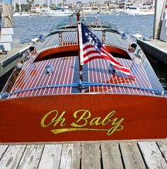 Oh Baby -  Classic Wooden Boat