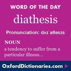 diathesis definition