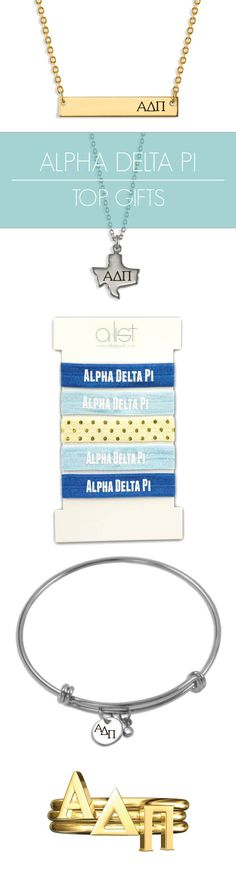 Top Alpha Delta Pi Gifts for you and your sisters! This season's must-haves for all things ADPi // #sorority www.alistgreek.com