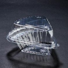 5 3/8 x 5 3/8 x 2 3/8 Pie Wedge Clear Hinged Container/Set of 250 Tags:  Hinged Lid Containers; ClearSeal; plastic Hinged Lid Containers; https://www.ktsupply.com/products/32803347363/5-38-x-5-38-x-2-38-Pie-Wedge-Clear-Hinged-ContainerSet-of-250.html