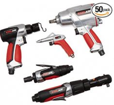 Buy air tools from USA Shop This kit has it all! Treat your air compressor with maximum torque-powered air tools and get the ultimate bang for your buck with this EXELAIR™ Professional Air Tool and Accessory Kit.