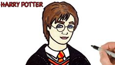 drawing potter harry easy draw portrait drawings celebrities portraits simple characters celebrity zelda