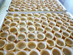 Cookie Dough Tart Shells Tart Dough, Tart Shells, Filipino Dishes, Happy Endings, Easter Ideas, Ice Cube Trays, Cookie Dough, Catering, Favorite Recipes