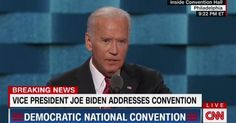 Full Video & Transcript: Vice President Joe Biden Speech at Democratic National Convention: DNC 2016 Philadelphia