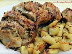 Paletilla de cordero al horno con patatas al romero, foto 2