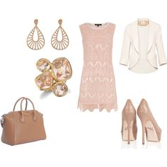 """the blushing bride's """"getaway outfit"""""""