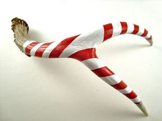 candy cane antlers... i think we should do this! ;p Bryan would kill me if I disrespected such a sacred animal this way! haha
