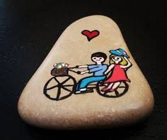 Image result for stone art bicycle