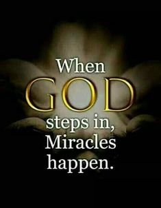 😀❤☺ Quotes About God, Trust God, Miracles Happen, Bible Scriptures, Bible Quotes, Healing Scriptures, Quotes Quotes, Heavenly Father, God Jesus