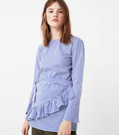 One high-street store is nailing the alternative office shirt. From chic, leopard-print tops to cool, striped poplin blouses with great bow details, see and shop our favourite @mangofashion buys here.