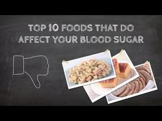 Top 10 foods that are terrible for your blood sugar.