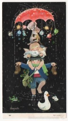 FERRANDIZ TARJETA FELICITACION NAVIDAD ESCRITA (Postales - Navidad)