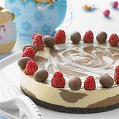 Try this Dark and White Chocolate Cheesecake  recipe by Chef LifeStyle FOOD.