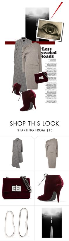 """""""Less Traveled Road: finding balance"""" by sharmarie ❤ liked on Polyvore featuring Balenciaga, Tom Ford and Sophie Buhai"""