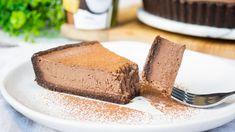 Chocolate mocha tart raw