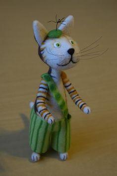 Picture tutorial to make the cat Findus  Как сделать Финдуса - Ярмарка Мастеров - ручная работа, handmade