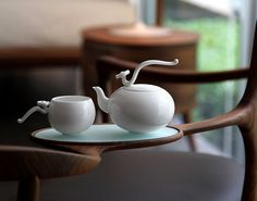 Lighter Than White Porcelain Collection by Heinrich Wang