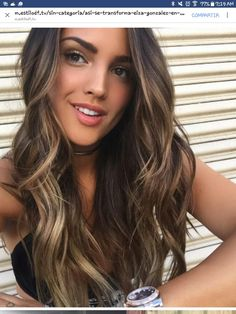 Red Balayage Hair Colors: 19 Hottest Examples for 2019 - Style My Hairs Cabelo Ombre Hair, Balayage Hair, Bayalage, Love Hair, Gorgeous Hair, Hair Color And Cut, Darker Hair Color Ideas, Brunnete Hair Color, Hot Hair Colors