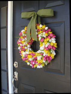 Spring Wreath Summer Wreath Mother's Day Gift Summer