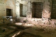 Visit some of Rome's best sights - underground! Domus Aurea.