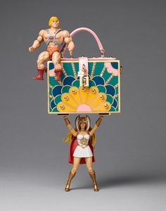 Still Life Product Photography, Stylist Magazine, Fashion accessories, handbag, he-man, Retro toys