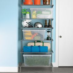 Platinum Elfa Freestanding Out-of-season Storage