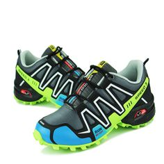 Running Shoes  Men Shoes Sports Running Shoes Sneakers Man Shoe lace-up Boy Uppers made of High Quality Leather Surface Wear Anti-skid Black * This is an AliExpress affiliate pin.  Find similar products on AliExpress website by clicking the VISIT button