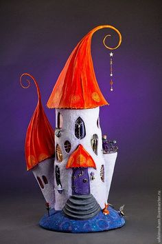 Lighting handmade.  Fair Masters - handmade lamp house for the little prince.  Handmade.