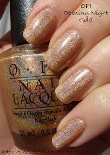 Tines Kosmetikblog: OPI Opening Night Gold