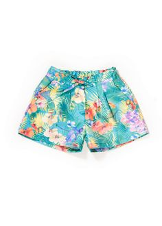 Short Lazada Estampado Tropical