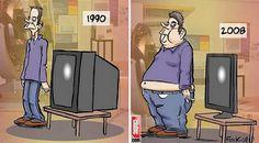 1990 dan günümüze Erkek ve TV evrimi