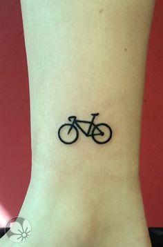 Minimalist Bicycle Tattoo Designs