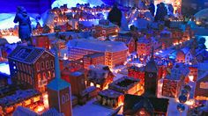 The Worlds largest Gingerbread-City. Located in Bergen, Norway