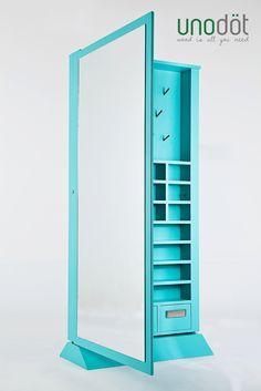 Espejo Organizador de accesorios.
