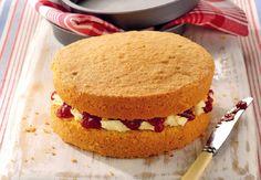 A slice of Victoria Sponge Cake #Aldi #BestOfBritish #win
